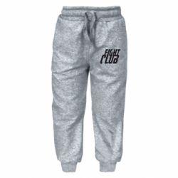 Дитячі штани Fight Club