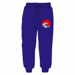 Дитячі штани Godzilla Wave