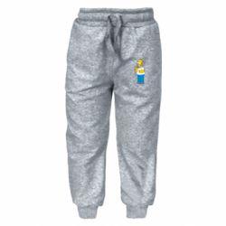 Детские штаны Гомер что-то затеял - FatLine