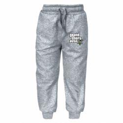Детские штаны GTA V Maine Logo