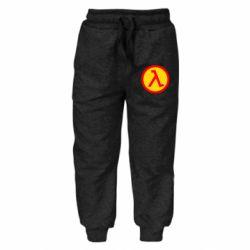 Детские штаны Half Life Logo