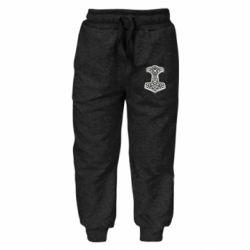 Дитячі штани Hammer torus pattern