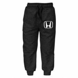 Детские штаны Honda Logo