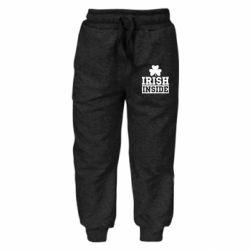 Детские штаны Irish Inside