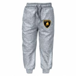 Дитячі штани Lamborghini Logo