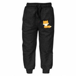 Детские штаны Little red fox