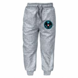 Детские штаны Логотип Щита