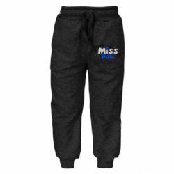 Детские штаны Miss Pole Dance - FatLine