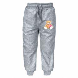 Дитячі штани М'який ведмедик