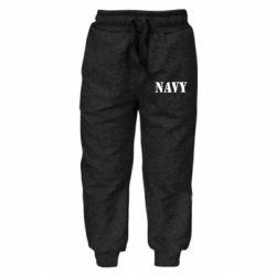 Дитячі штани NAVY