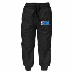 Детские штаны NBA Logo