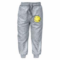 Дитячі штани Nirvana Logo 3D