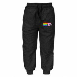Дитячі штани Nyan cat