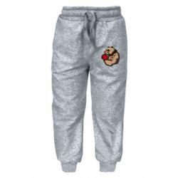 Детские штаны Panda Boxing