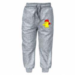 Детские штаны Pikachu in a cap