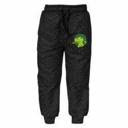 Дитячі штани Святковий динозавр