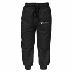 Дитячі штани Python