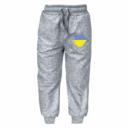 Дитячі штани Серце України