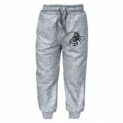 Дитячі штани 2 скорпіон