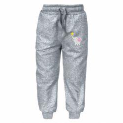 Дитячі штани Слон із зірочкою