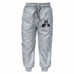 Дитячі штани Собака в боксерських рукавичках