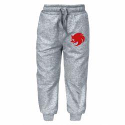 Детские штаны Sonic logo