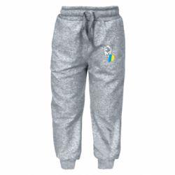 Дитячі штани Дякую Тобі, Боже, що я Українець!