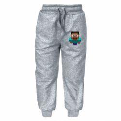 Детские штаны Steve from Minecraft