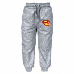 Детские штаны Super Man