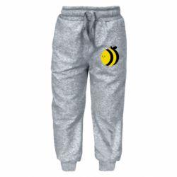 Детские штаны толстая пчелка