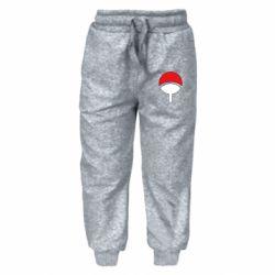 Детские штаны Uchiha symbol
