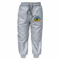 Детские штаны Українська квітка