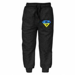 Дитячі штани Український Superman