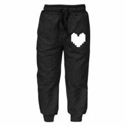 Дитячі штани Undertale heart