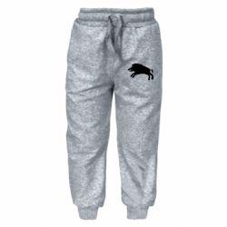 Дитячі штани Wild boar