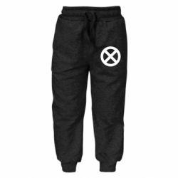 Дитячі штани X-man logo