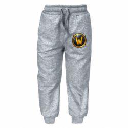 Детские штаны Значок wow