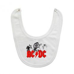 Слюнявчик  AC DC - FatLine