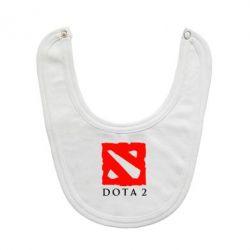 Слюнявчик  Dota 2 Big Logo - FatLine