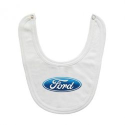 Слюнявчик  Ford 3D Logo - FatLine
