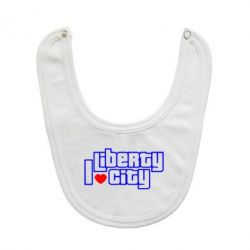 Слюнявчик  I love Liberty City - FatLine