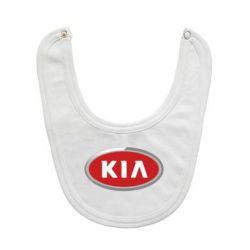 Слюнявчик  KIA Logo 3D - FatLine