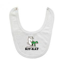 Слюнявчик  Kit-Kat - FatLine