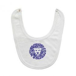 Слюнявчик  лев - FatLine