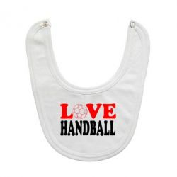 Слюнявчик  Love Handball - FatLine