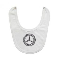 Слюнявчик  Mercedes Logo - FatLine