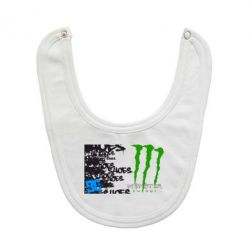Слюнявчик  Monster Energy DC Shoes - FatLine