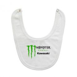 Слюнявчик  Monster Energy Kawasaki - FatLine