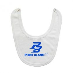 Слюнявчик  Point Blank logo - FatLine