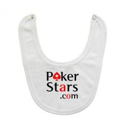 Слюнявчик  Poker Stars - FatLine